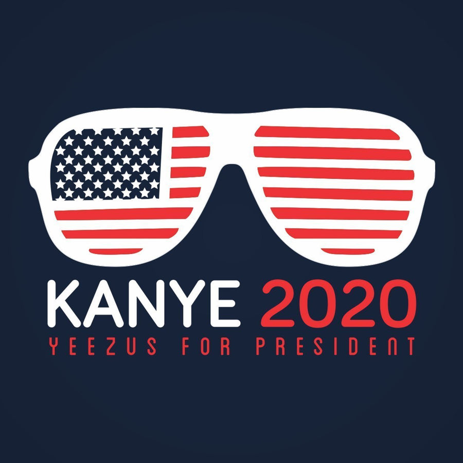 Kanye 2020 For President Racer Back Tri-Blend Tank Top - Sam's Fitness Goods