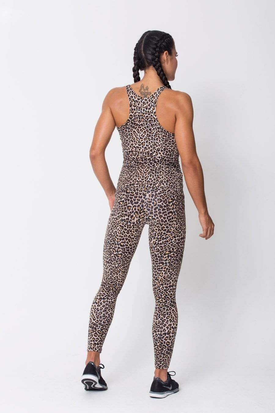 Leopard Active Tank - Sam's Fitness Goods