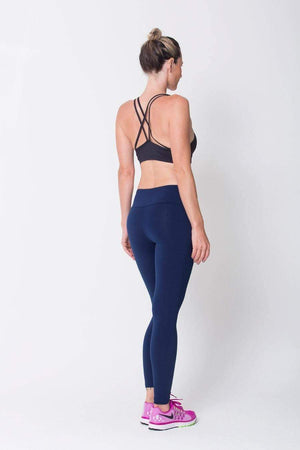 Navy Essential Legging - SFG Wellness