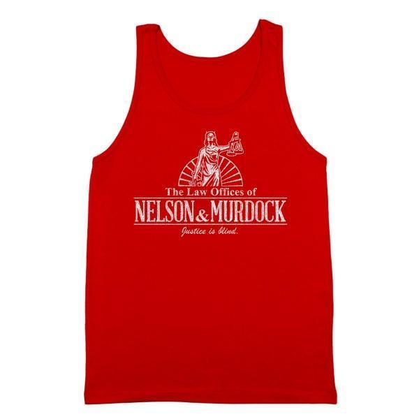 Nelson And Murdock Law Firm Tank Top - Sam's Fitness Goods