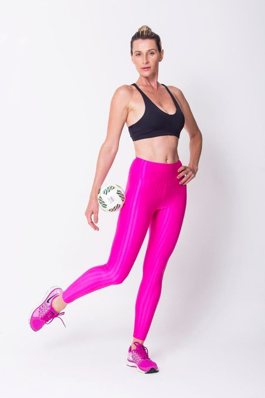 Pink	3D Disco Leggings - Sam's Fitness Goods
