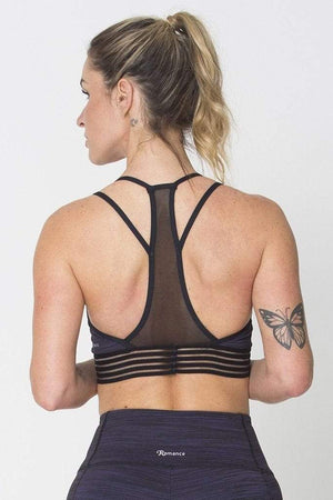 Purple Action Sports Bra - Sam's Fitness Goods