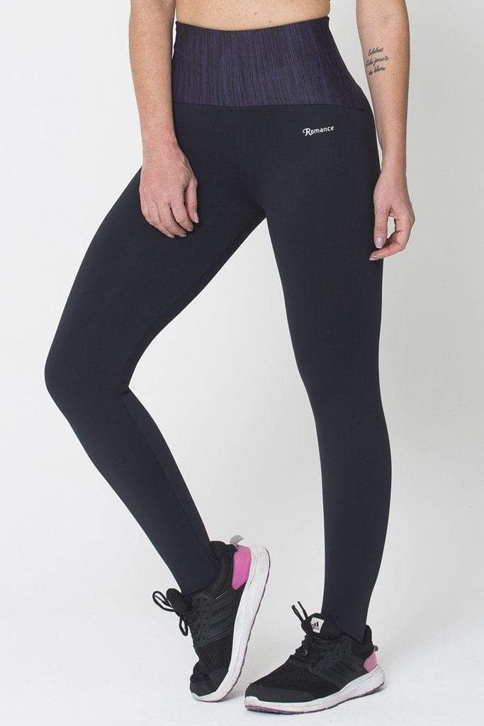Purple Waist Legging - Sam's Fitness Goods