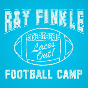 Ray Finkle Football Camp Laces Out Racer Back Tri-Blend Tank Top - Sam's Fitness Goods