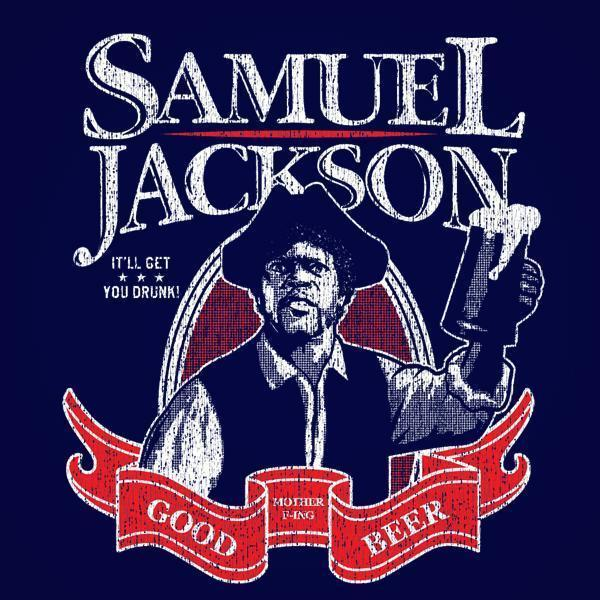 Samuel Jackson Beer Racer Back Tri-Blend Tank Top - Sam's Fitness Goods