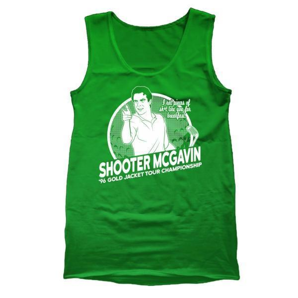 Shooter Mcgavin Golf Champ Tank Top - Sam's Fitness Goods