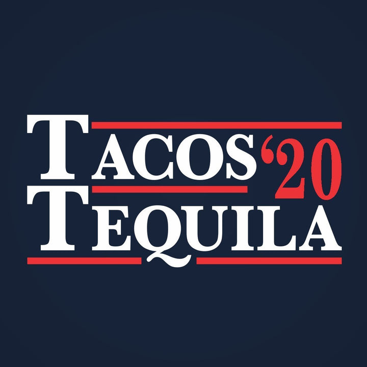 Tacos And Tequila Election 2020 Racer Back Tri-Blend Tank Top - Sam's Fitness Goods