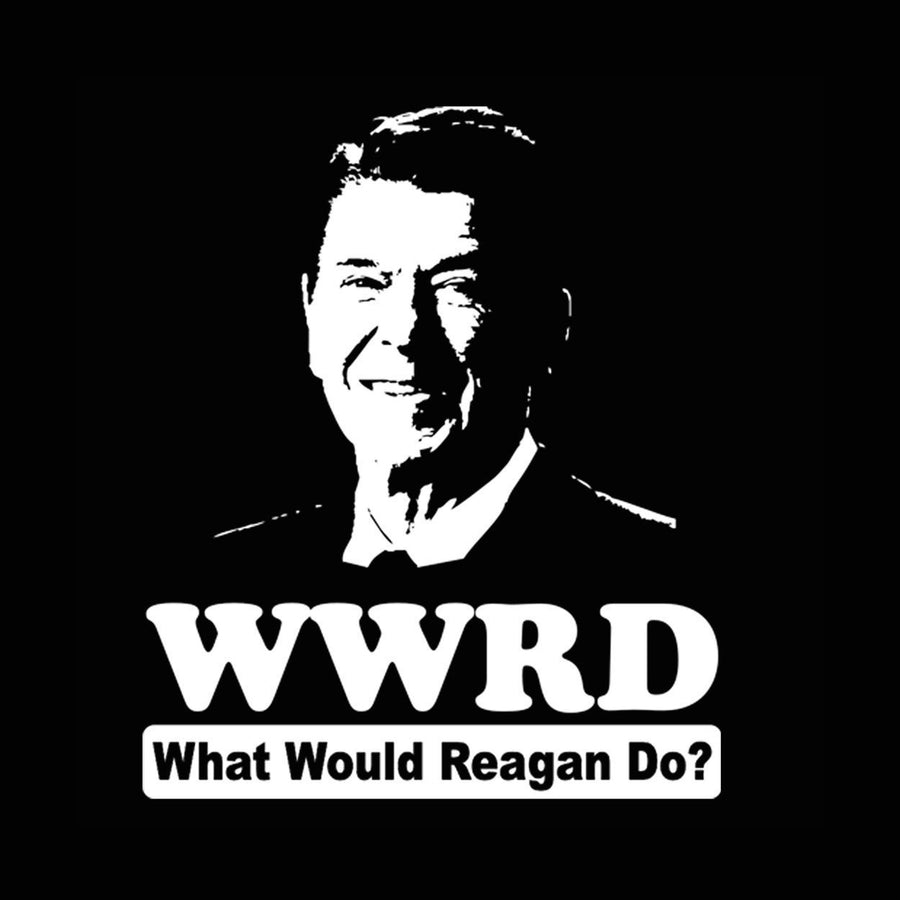 What Would Ronald Reagan Do Tank Top - Sam's Fitness Goods