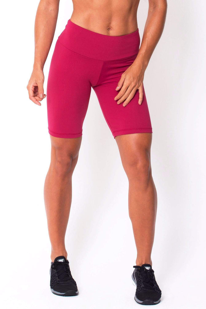 Wine Long Shorts - Sam's Fitness Goods