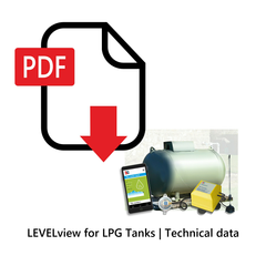 LEVELview for LPG Tanks | Technical Data