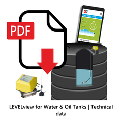 LEVELview for Water & Oil Tanks | Technical Data