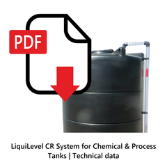 LiquiLevel CR System for Chemical & Process Tanks | Technical Data