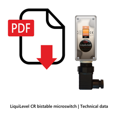 LiquiLevel CR bistable microswitch | Technical Data