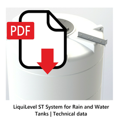 LiquiLevel ST System for Rain and Water Tanks | Technical data