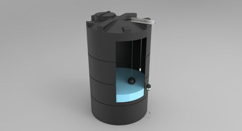 LiquiLevel ST on rainwater tank