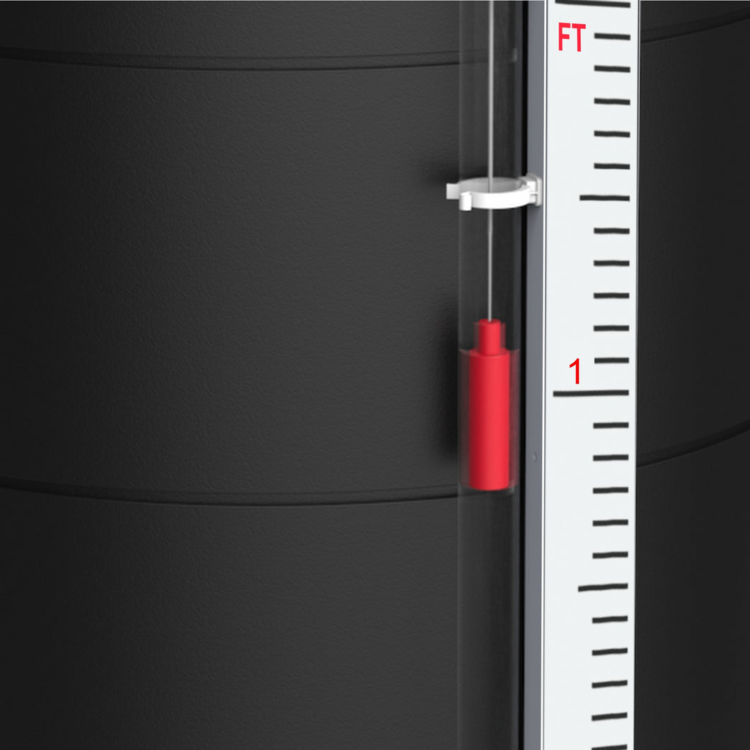 GRP Gauge Board - inches and feet