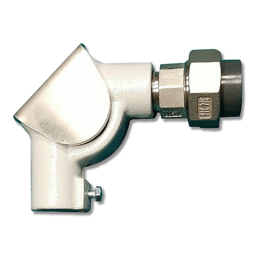 90 degree pulley elbow with PVC Adaptor for Float & Board Level Indicators