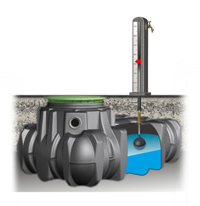 LiquiLevel LP Tank Level Indicator for low-profile underground tanks - Nikeson