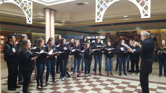 2017 SK Youth Choir on tour in Saskatoon