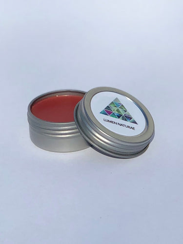 Blossom Lip Balm, Natural Botanical Tint - Lumen Naturae