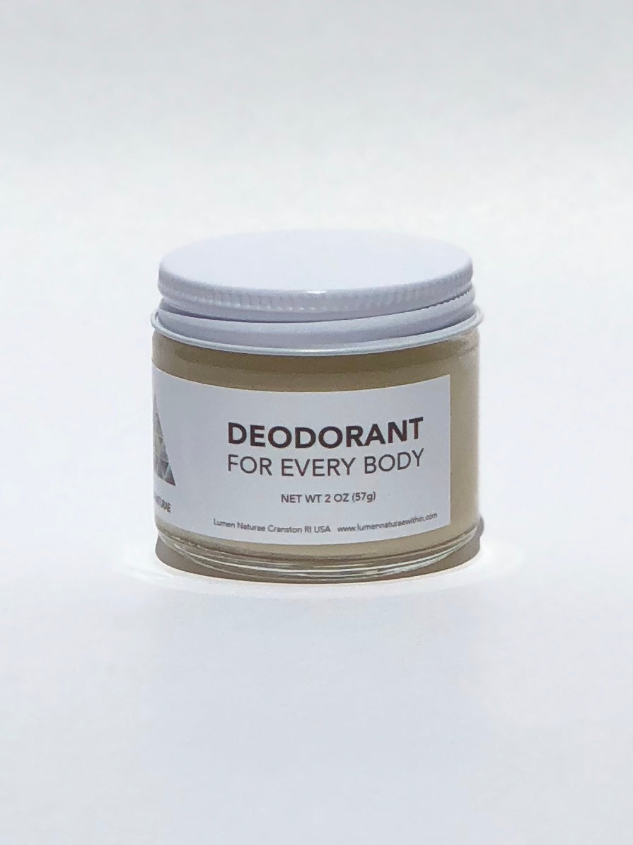 Deodorant, Natural and for Everybody - Lumen Naturae