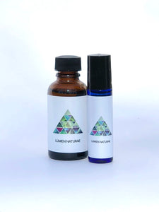 Awakening Pulse Point Oil, Stimulating Botanical Scent - Lumen Naturae