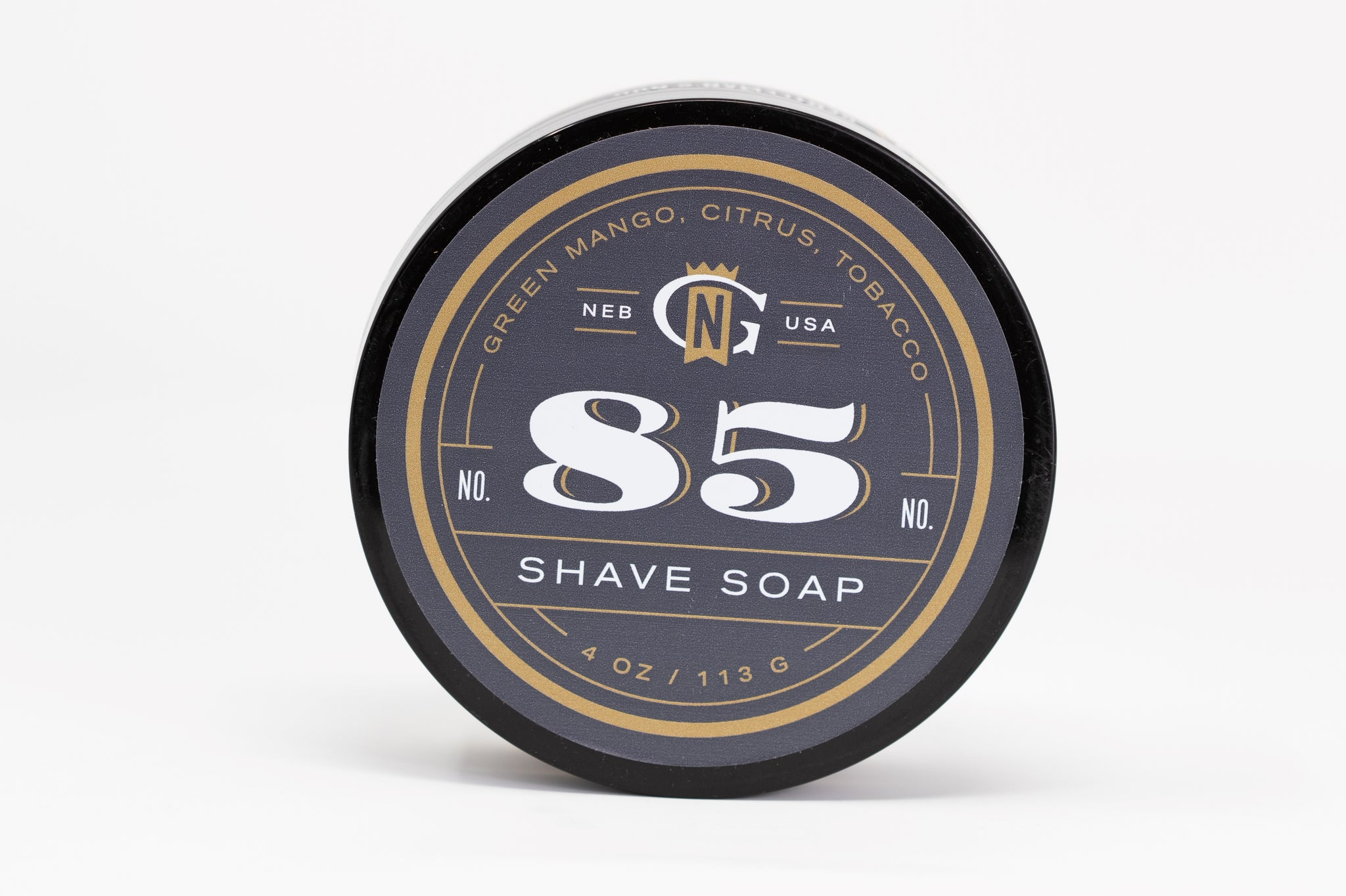 Gentleman's Nod 'Ernest' Luxury Shaving Soap