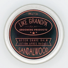 After Shave Balm - Sandalwood