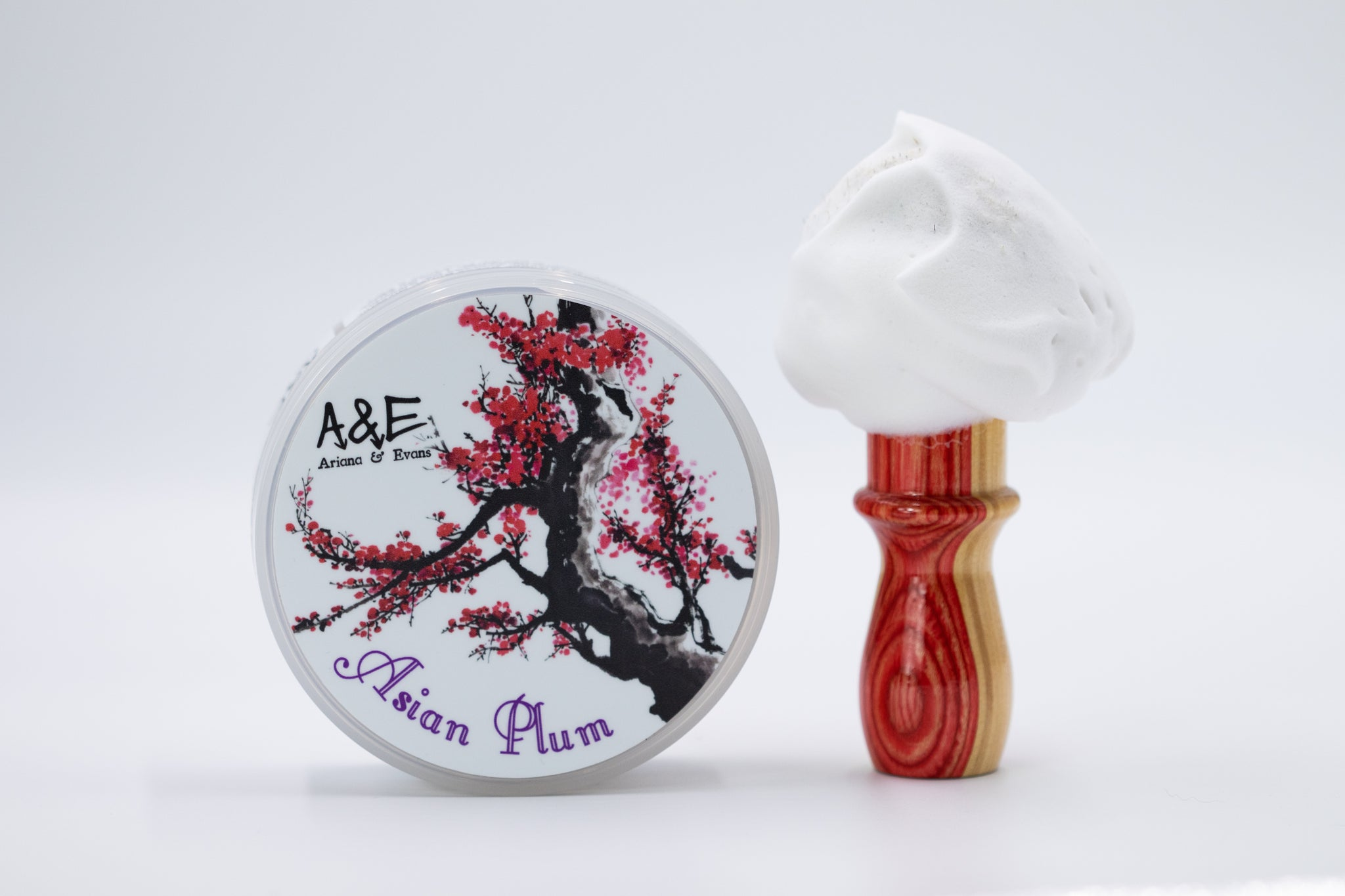 Ariana & Evans 'Asian Plum' Luxury Tallow Shaving Soap