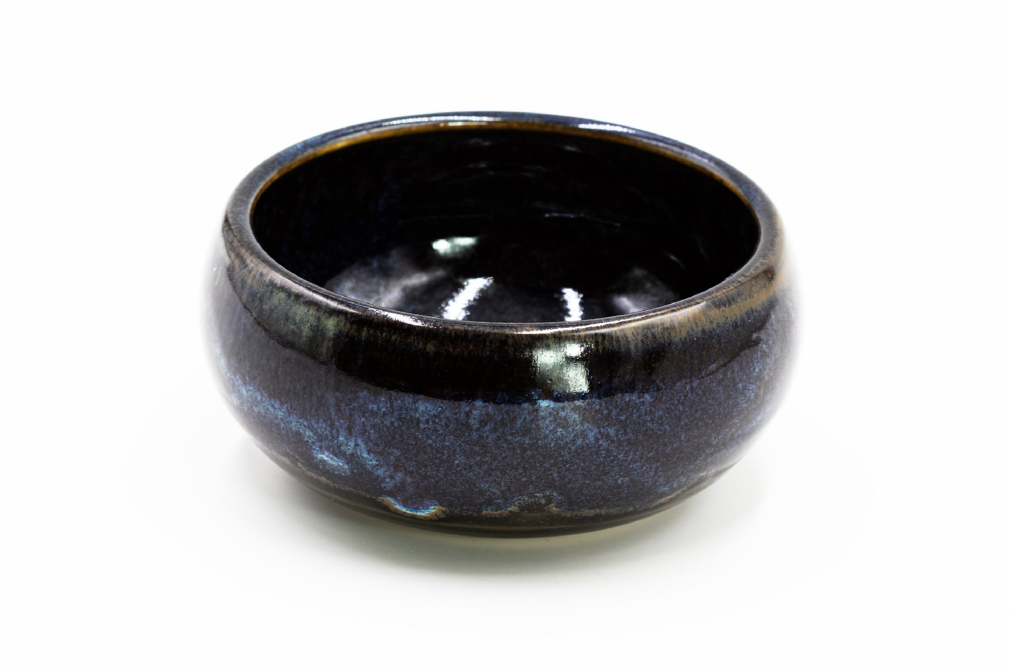 Dark Blue Shaving Bowl