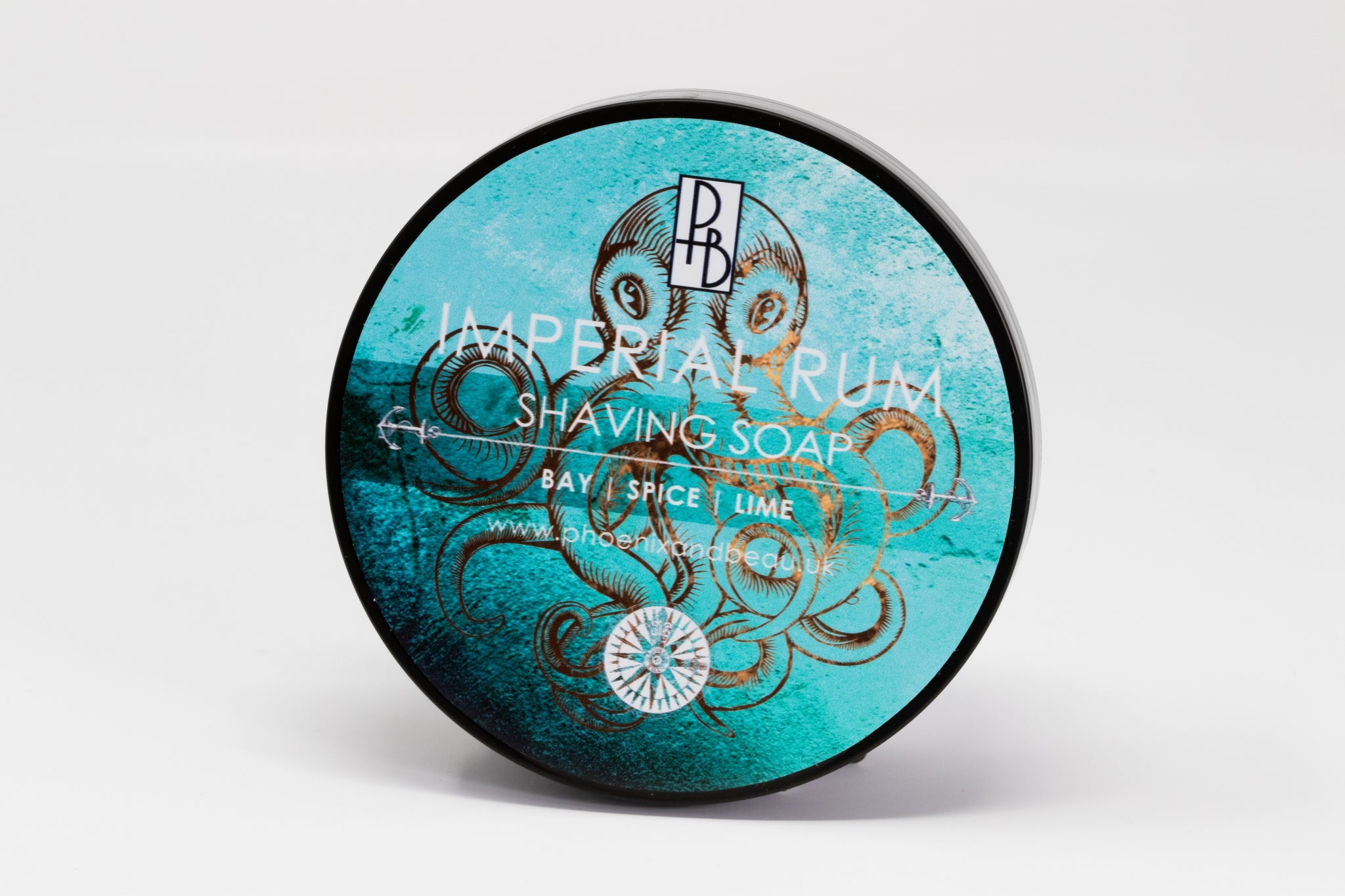 Phoenix & Beau 'Imperial Rum' Luxury Tallow Shaving Soap
