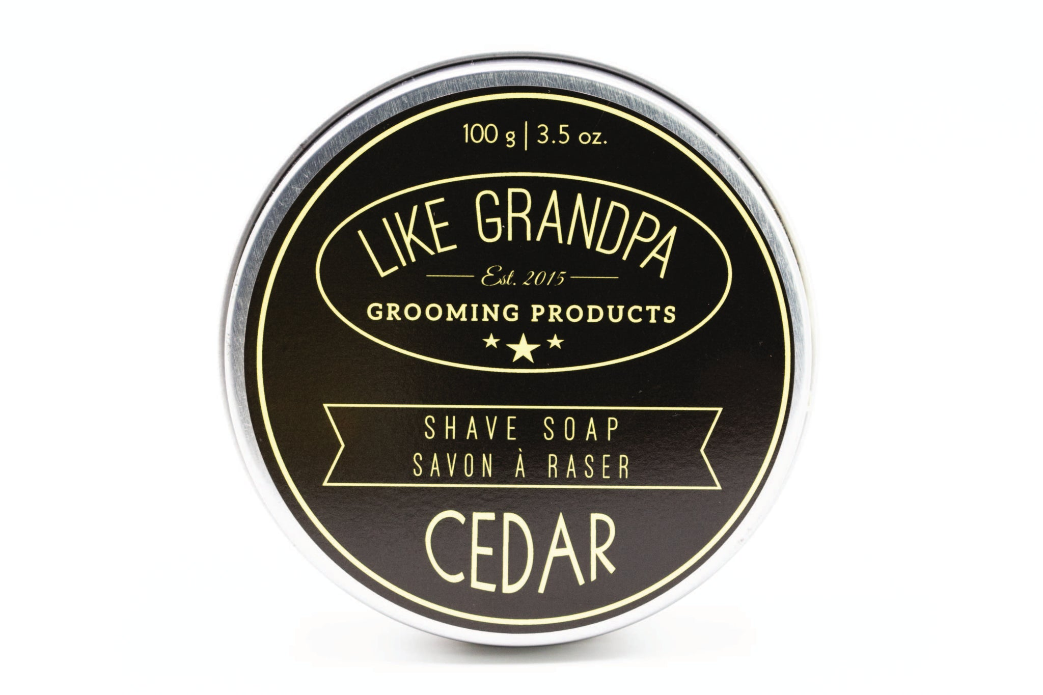 Like Grandpa Cedar Shave Soap