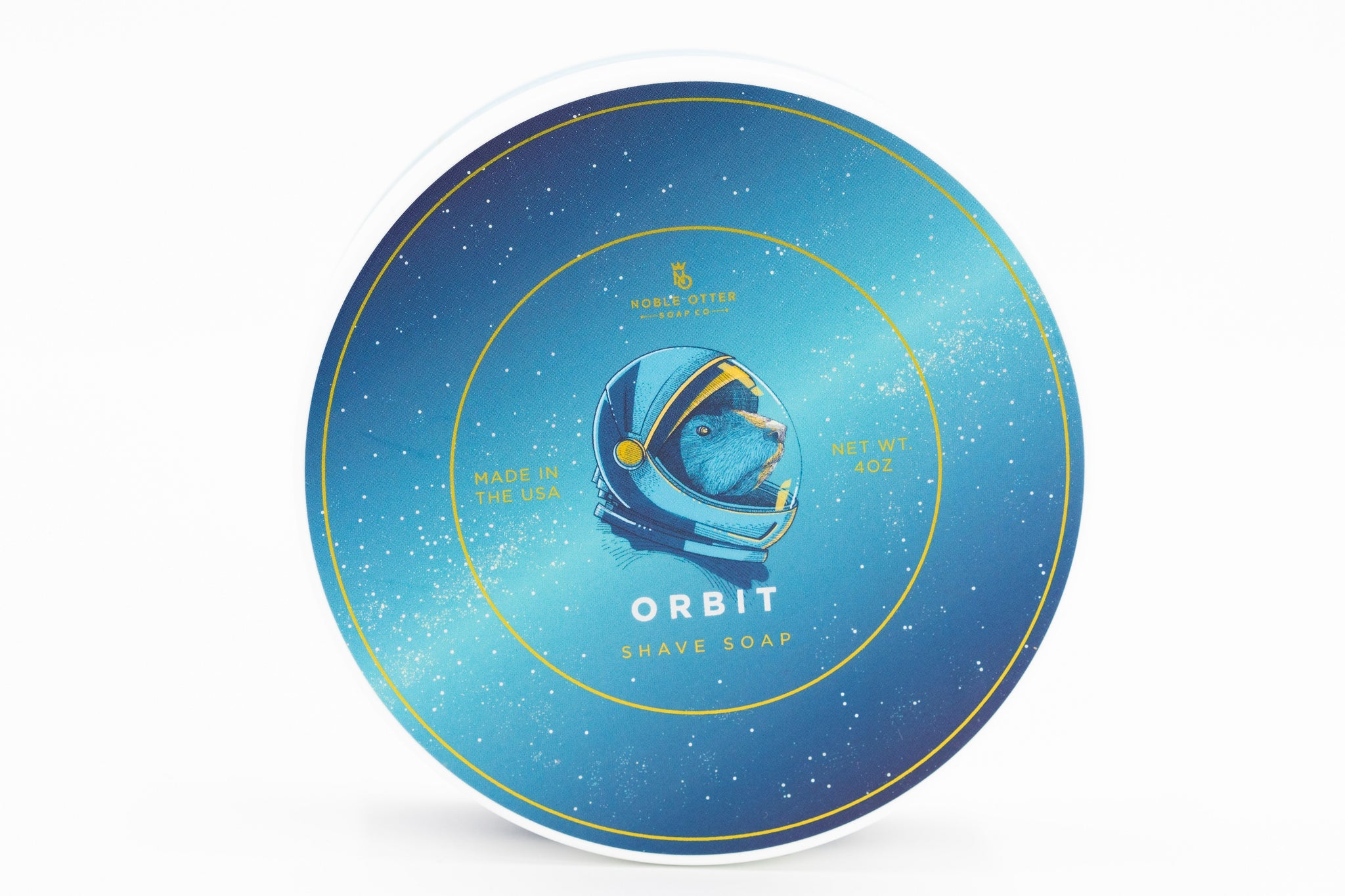 Noble Otter 'Orbit' Luxury Tallow Shaving Soap