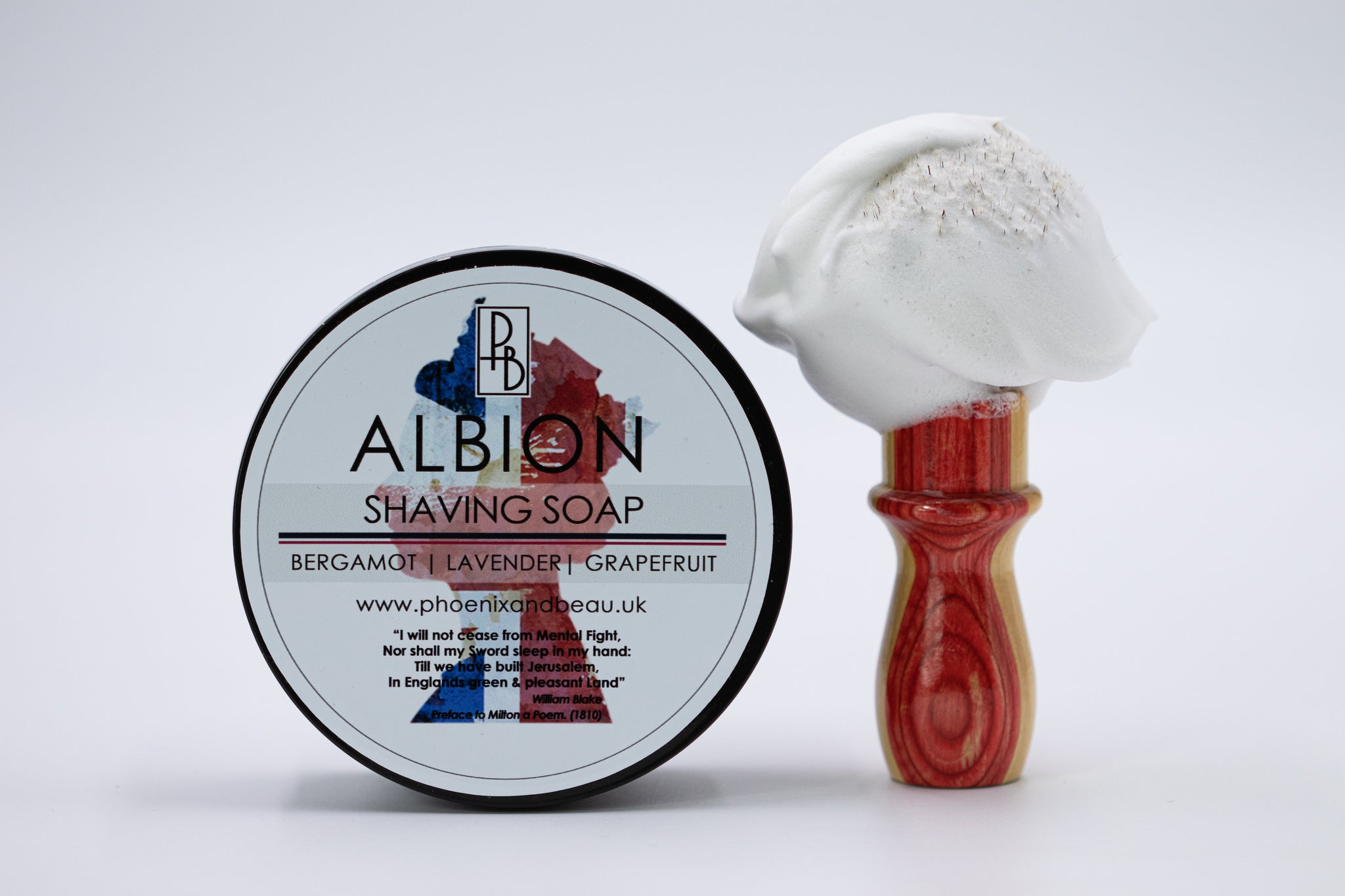 Phoenix & Beau 'Albion' Luxury Tallow Shaving Soap