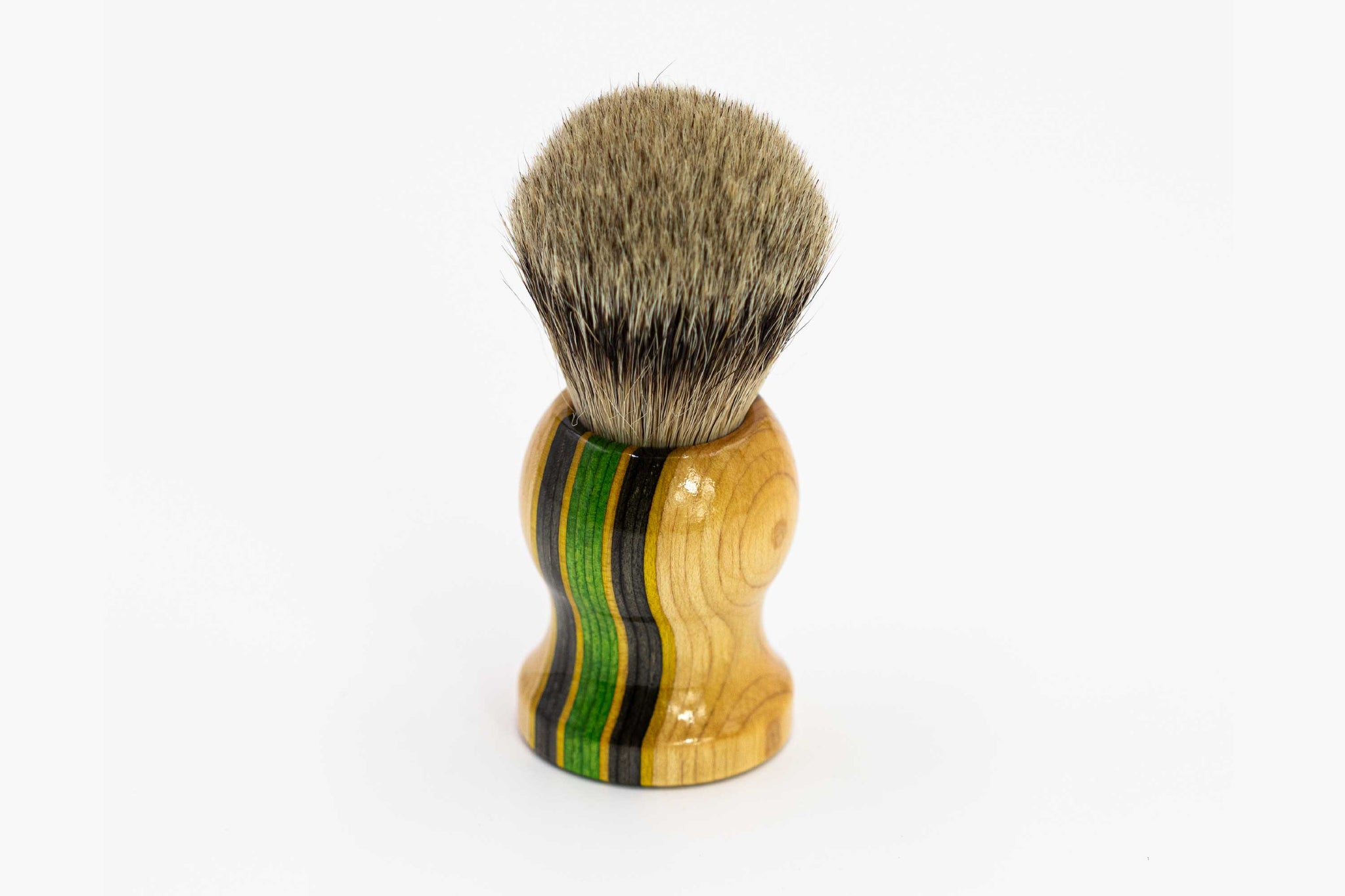 'Semois Valley' Skate Maple Stubby Shaving Brush