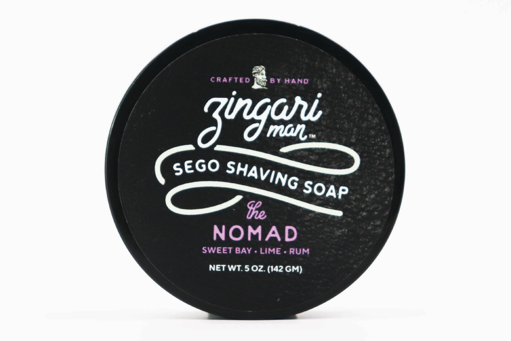 Zingari Man 'The Nomad' Luxury Tallow Shaving Soap