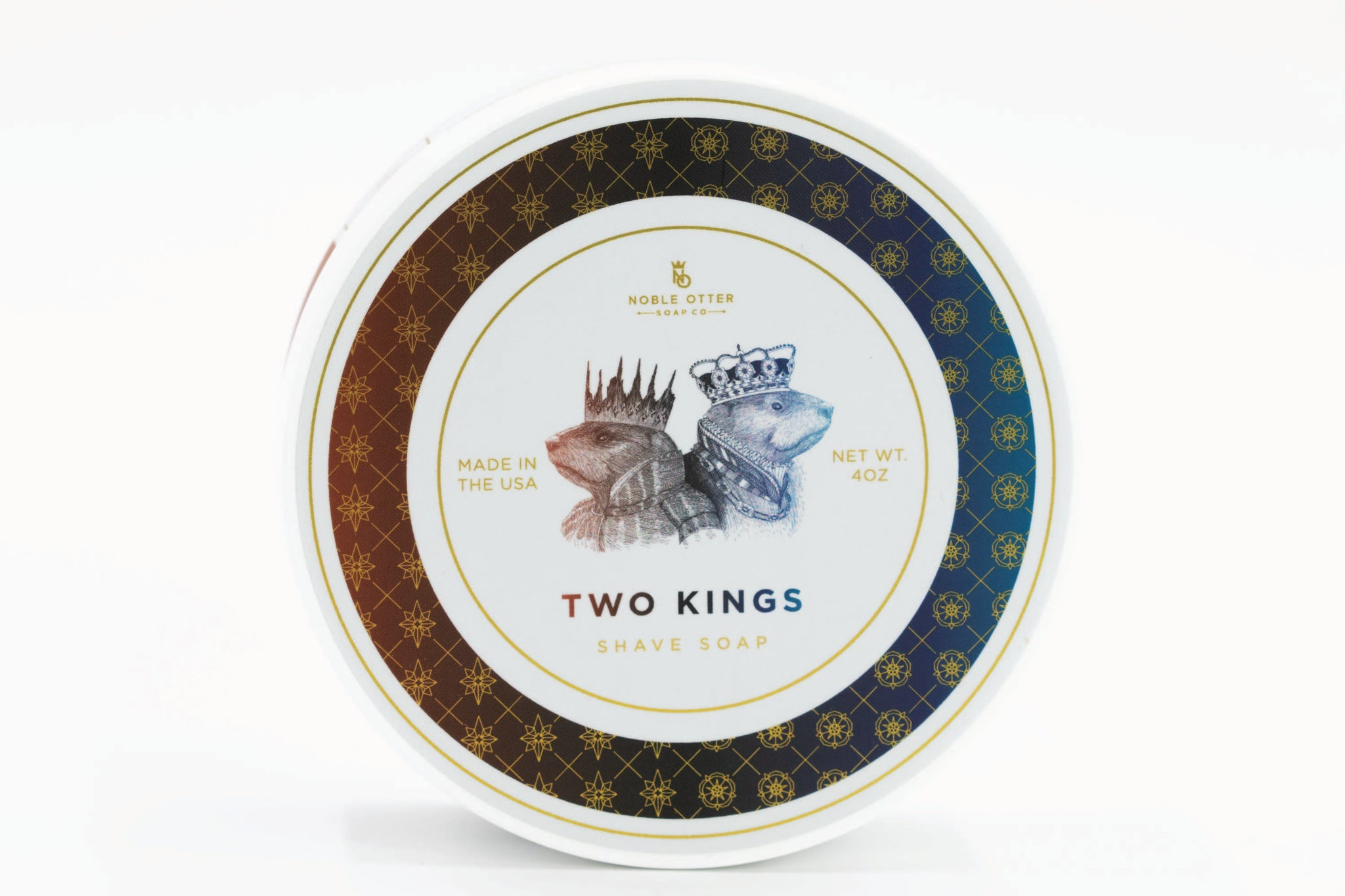 Noble Otter 'Two Kings' Luxury Tallow Shaving Soap