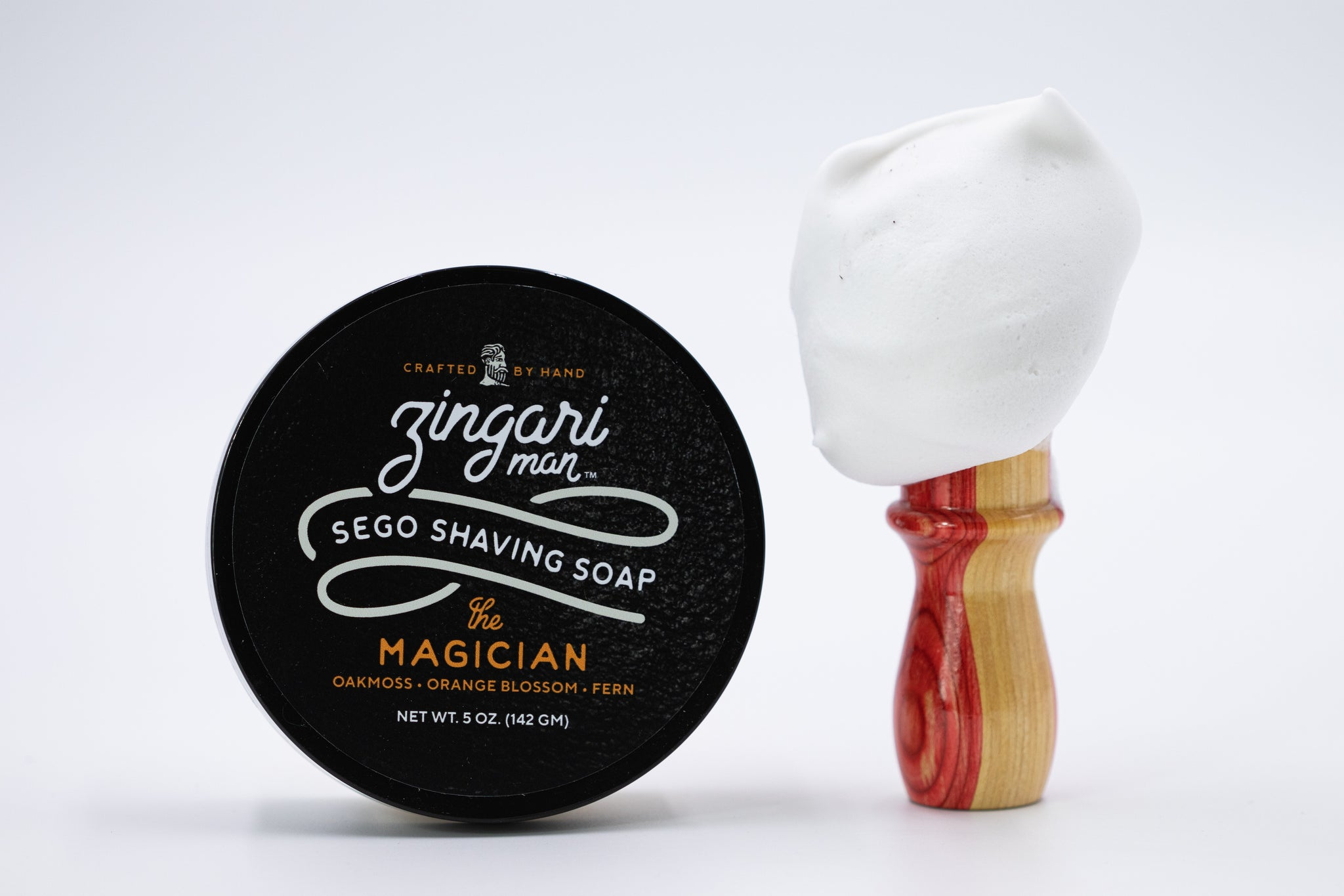 Zingari Man 'The Magician' Luxury Tallow Shaving Soap