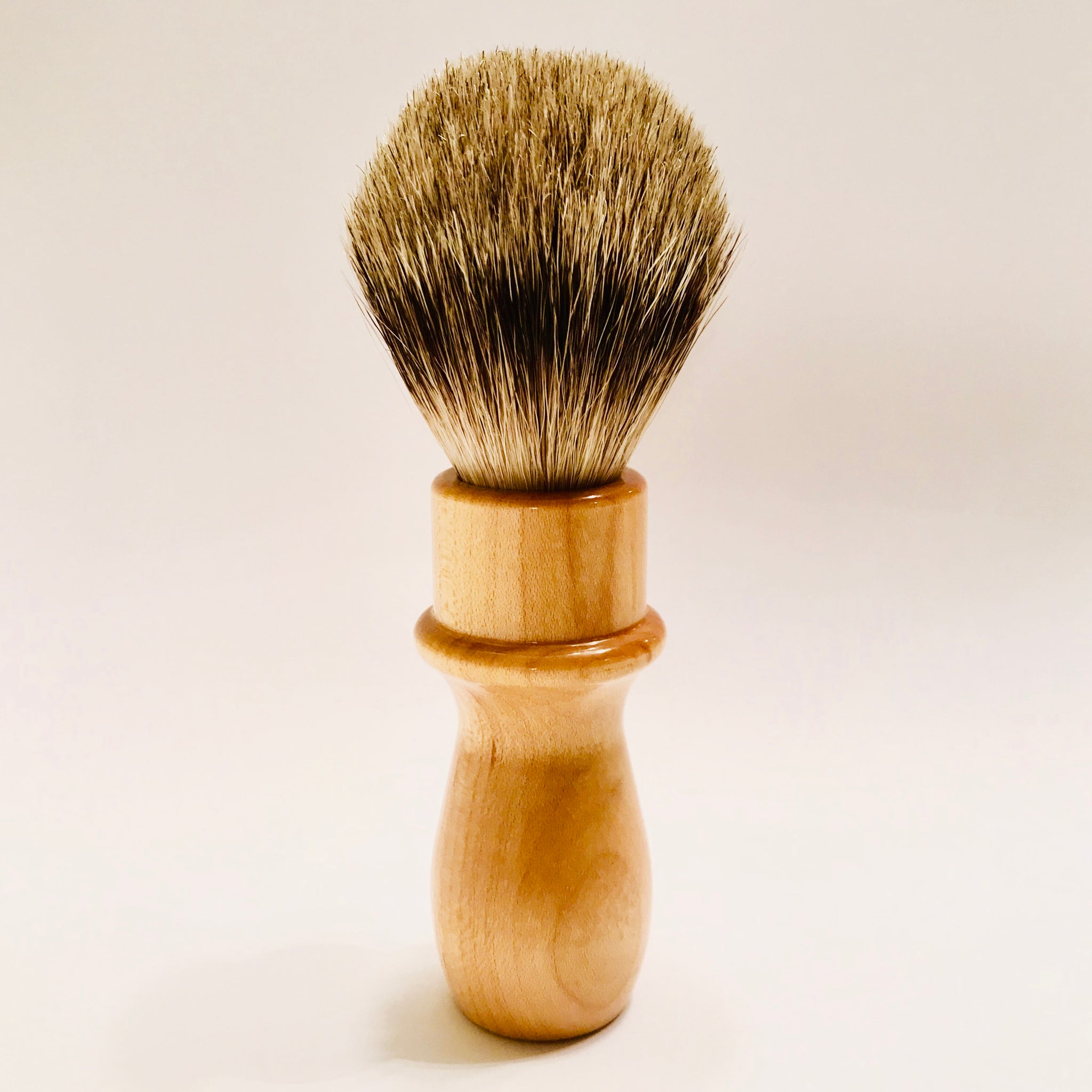 Solid Maple Shaving Brush