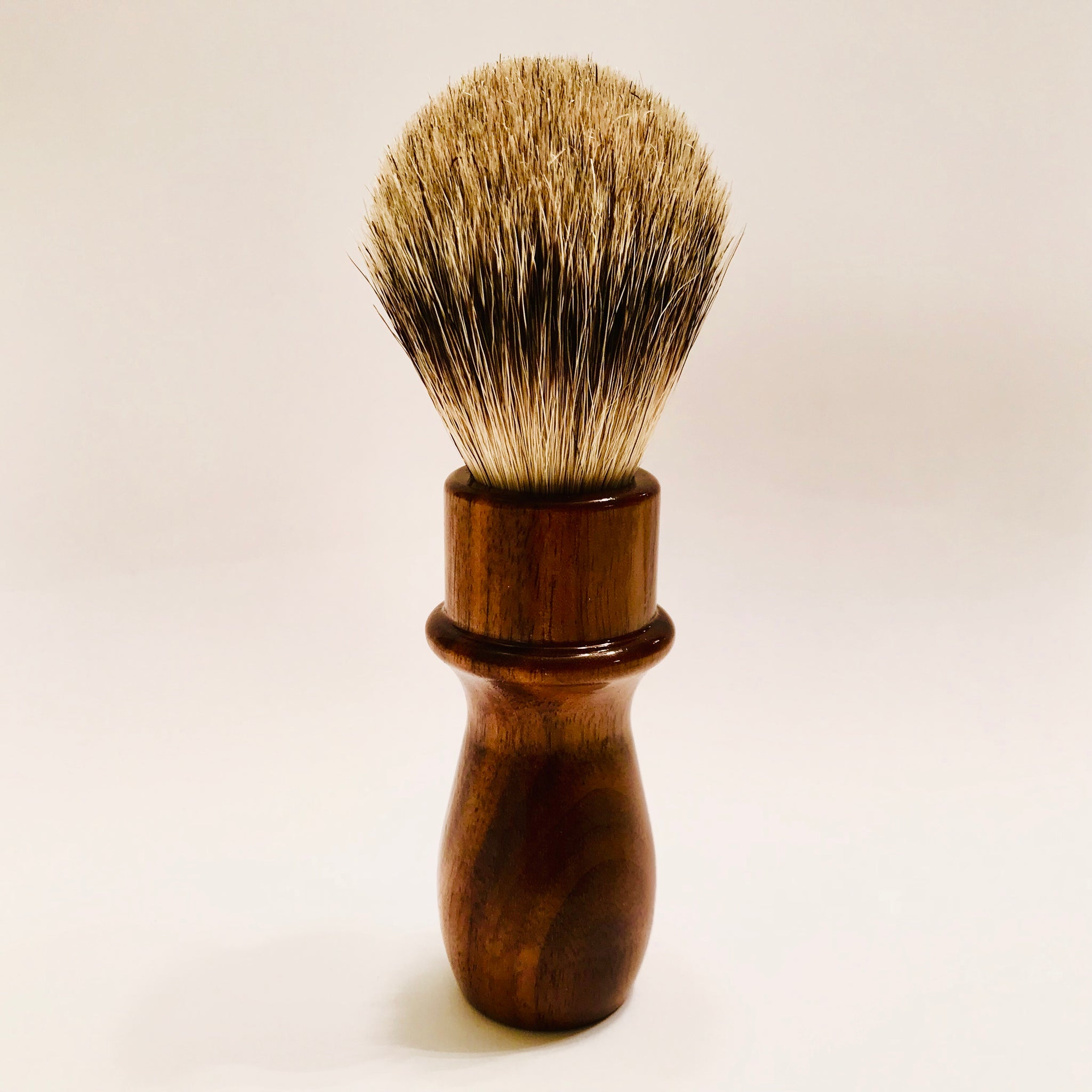 Solid Walnut Shaving Brush