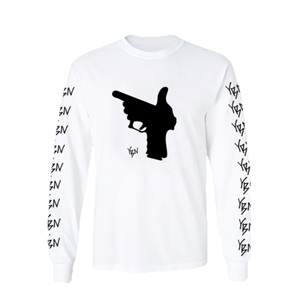 Glock Long Sleeve Tee [White]