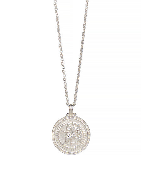 Virgo Zodiac Necklace Gender Neutral Sterling Silver 星座 乙女座