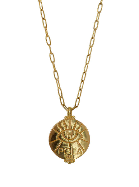 O positive Blood type Sangre Necklace. Gender neutral Jewelry Collection. 23c Vermeil. Third eye. 血液型 Ketsueki gata