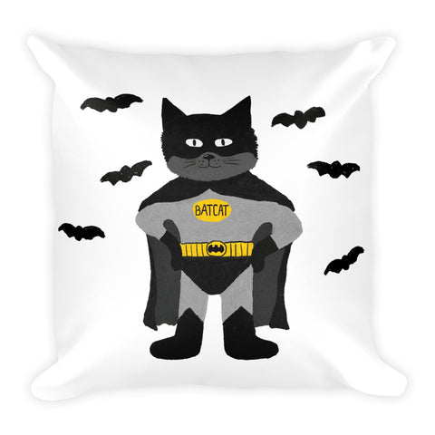 BatCat Pillow