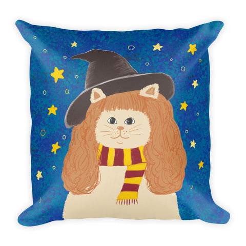 Hermione Cat Pillow