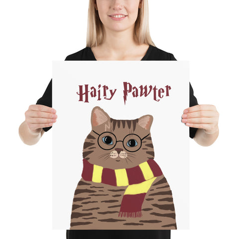 Hairy Potter Funny Poster