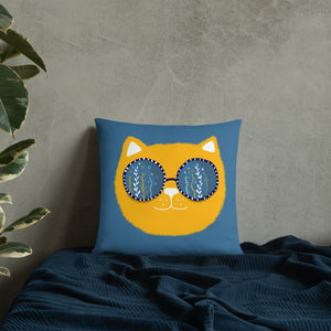 Cool Cat Pillow