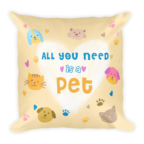 Pet Lover Pillow