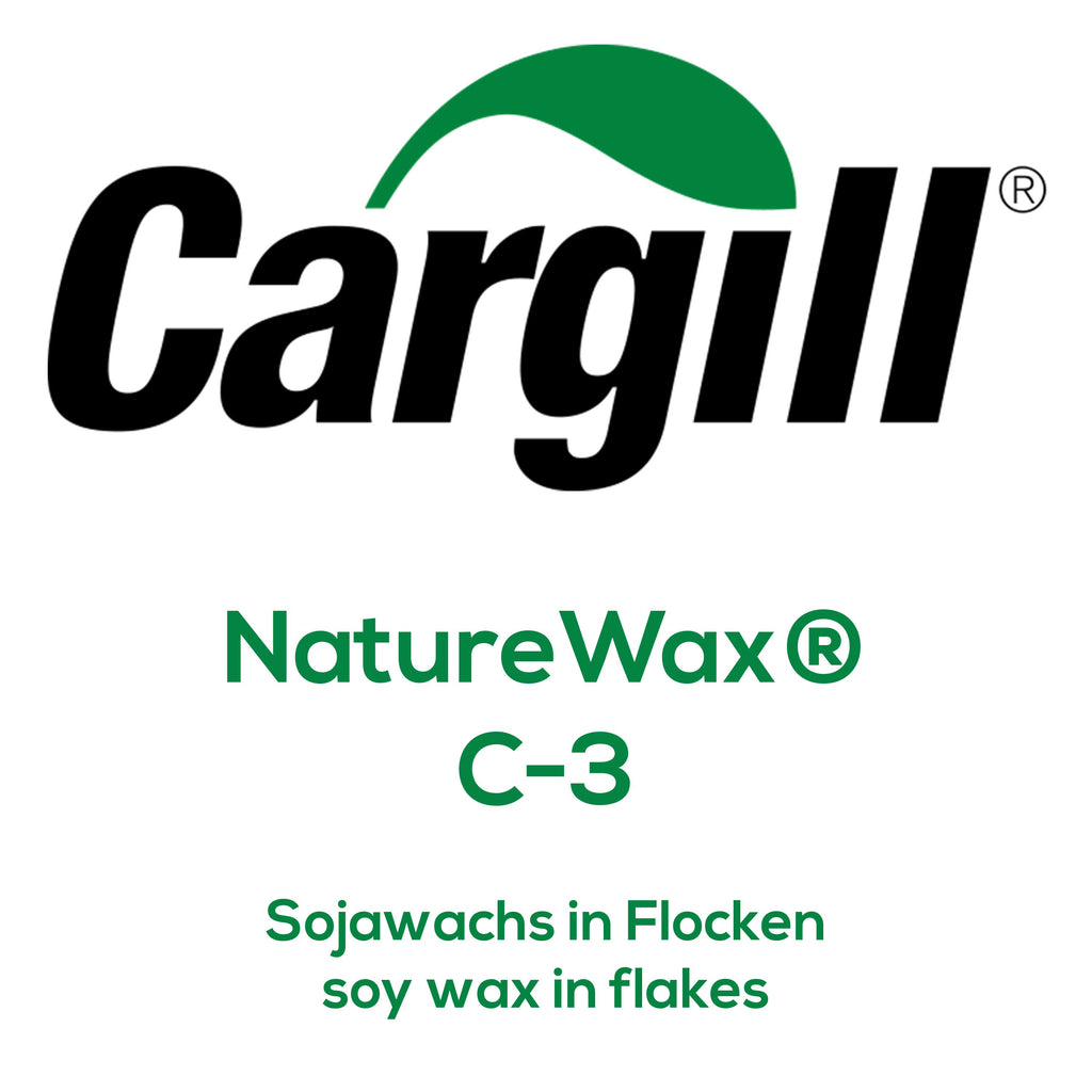 Cargill NatureWax® C-3 Sojawachs in Flocken, soy wax in flakes, C3