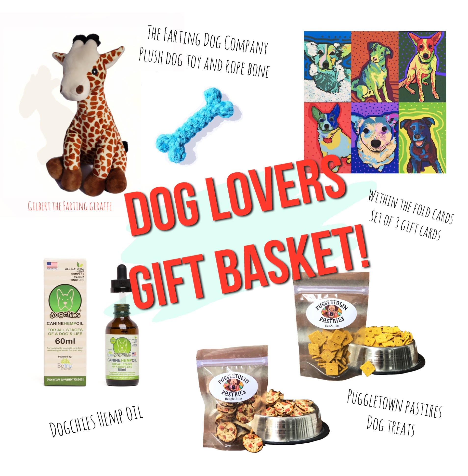 Win a Dog Lover's Gift Basket!